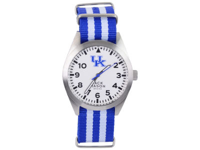 Kentucky Wildcats Jack Mason Men's Striped NATO Strap Watch