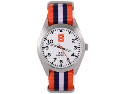 Syracuse Orange Jack Mason Men's Striped NATO Strap Watch