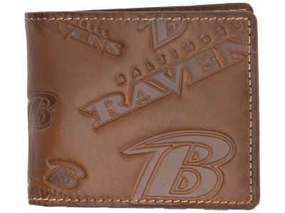Baltimore Ravens Embossed Bifold