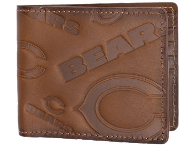 Chicago Bears Embossed Bifold