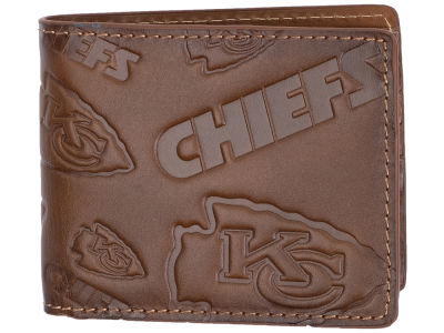 Kansas City Chiefs Embossed Bifold