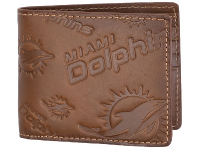 Miami Dolphins Jack Mason Embossed Bifold