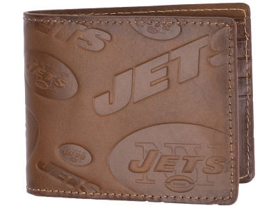 New York Jets Embossed Bifold