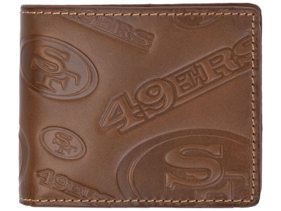 San Francisco 49ers Embossed Bifold