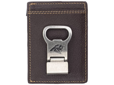 Carolina Panthers Jack Mason Gridiron Multicard Front Pocket Wallet