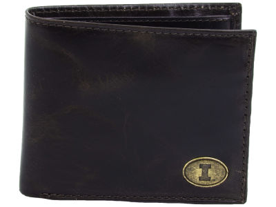 Illinois Fighting Illini Jack Mason Legacy Traveler Wallet