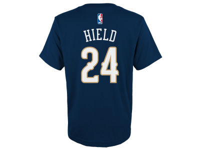 New Orleans Pelicans Buddy Hield adidas NBA Youth Name And Number T-Shirt