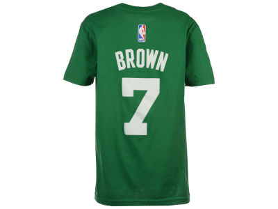 Boston Celtics Jaylen Brown NBA Youth Name And Number T-Shirt