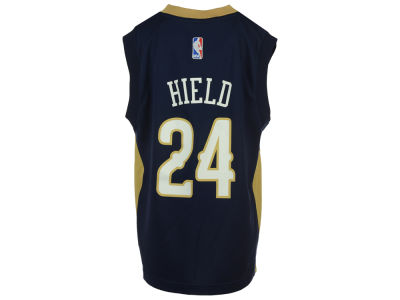 New Orleans Pelicans Buddy Heild Youth NBA Revolution 30 Jersey