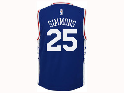 Philadelphia 76ers Ben Simmons Youth NBA Revolution 30 Jersey