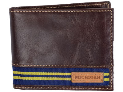 Michigan Wolverines Jack Mason Tailgate Traveler Wallet