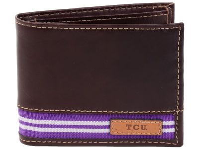 Texas Christian Horned Frogs Jack Mason Tailgate Traveler Wallet