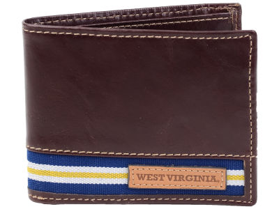 West Virginia Mountaineers Jack Mason Tailgate Traveler Wallet