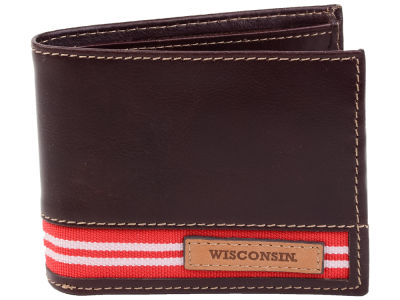 Wisconsin Badgers Jack Mason Tailgate Traveler Wallet