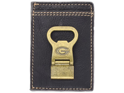 Georgia Bulldogs Gridiron Multicard Front Pocket Wallet