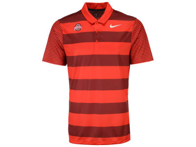 Ohio State Buckeyes NCAA Men's Breathe Bold Stripe Polo
