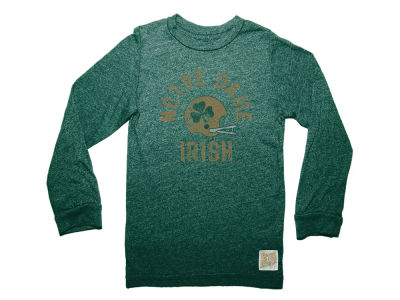 Notre Dame Fighting Irish Retro Brand NCAA Men's Mock Twist Long Sleeve T-Shirt
