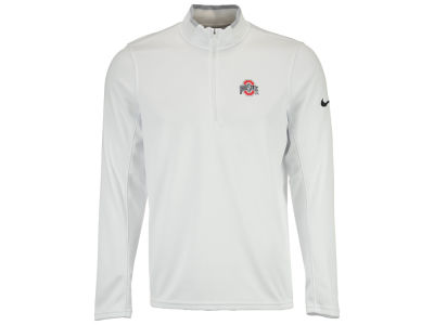 Ohio State Buckeyes NCAA Men's Dri-Fit 1/2 Zip Long Sleeve Pullover