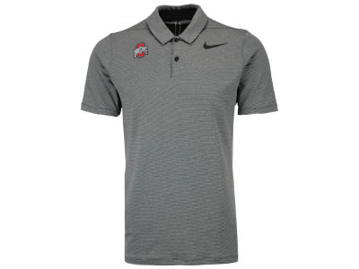 Ohio State Buckeyes Nike Golf NCAA Men's Mobility Control Stripe Polo