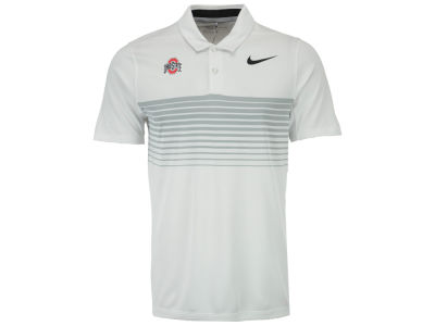 Ohio State Buckeyes Nike Golf NCAA Men's Mobility Speed Stripe Polo
