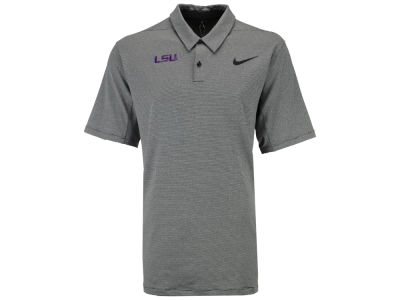 LSU Tigers Nike NCAA Men's Mobility Control Stripe Polo