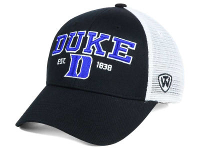 Duke Blue Devils 2 for $28 Top of the World NCAA Black Mesh Teamwork Snapback Cap