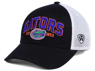 Florida Gators NCAA 2 for $28 Top of the World NCAA Black Mesh Teamwork Snapback Cap