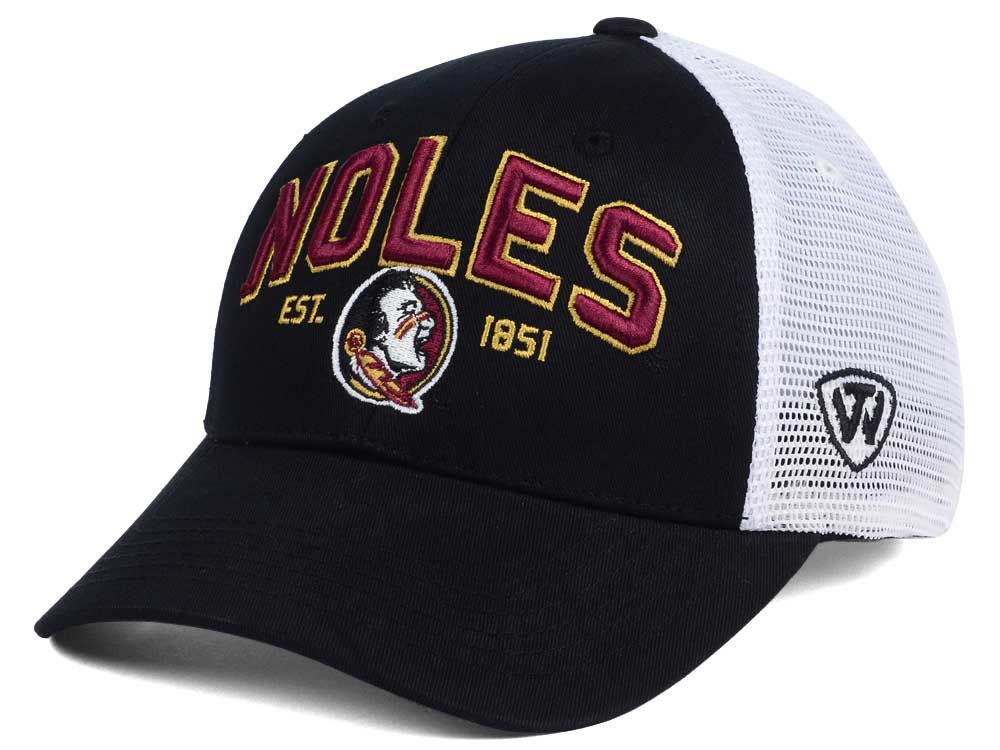 best website 903cb a42c1 ... aliexpress florida state seminoles 2 for 28 top of the world ncaa black  mesh teamwork snapback