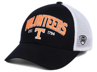 Tennessee Volunteers 2 for $28 Top of the World NCAA Black Mesh Teamwork Snapback Cap