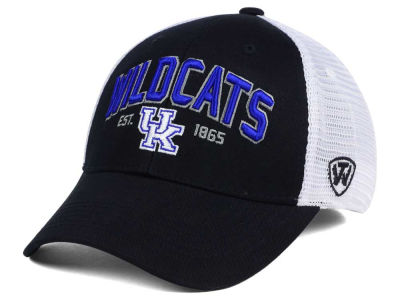 Kentucky Wildcats NCAA 2 for $28 Top of the World NCAA Black Mesh Teamwork Snapback Cap