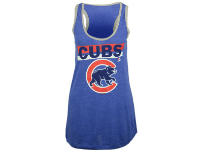 Chicago Cubs Majestic MLB Women's Believe Tank