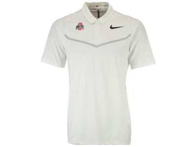 Ohio State Buckeyes Nike NCAA Men's Max Blocked Polo