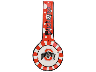 Ohio State Buckeyes Hand-painted Ceramic Spoon