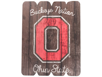 Ohio State Buckeyes 11x14 Large Wood Sign