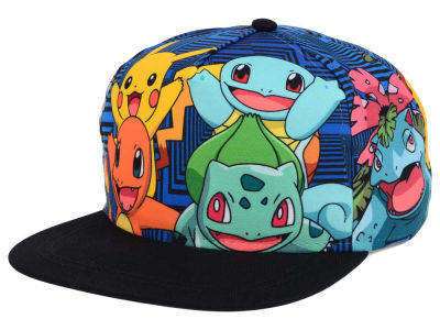 Pokemon Pokemon Charmander Snapback Cap