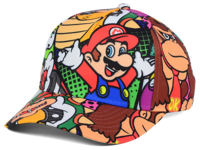 Nintendo All Over Sub Snapback Cap