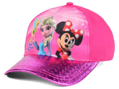 Disney Sparkly Visor Adjustable Cap