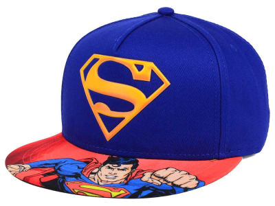 DC Comics Superman Lenticular Youth Snapback Cap