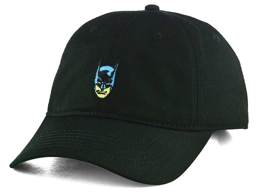 new arrivals 4e180 d7d59 wholesale dc comics batman small logo dad hat 33076 6dd1c