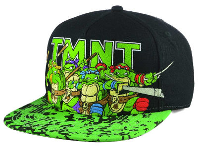 Teenage Mutant Ninja Turtles Teenage Mutant Ninja Turtles Splatter Snapback Cap