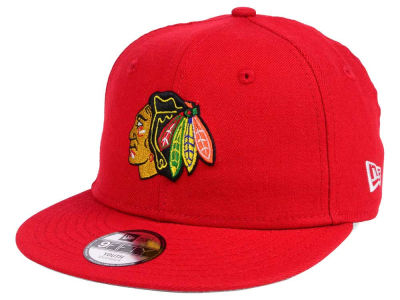 Chicago Blackhawks New Era NHL Youth All Day 9FIFTY Snapback Cap