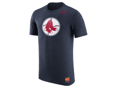 Boston Red Sox Nike MLB Men's Coop Tri-Blend Logo T-Shirt