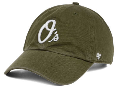 Baltimore Orioles '47 MLB Olive White '47 CLEAN UP Cap