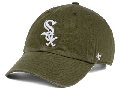 Chicago White Sox '47 MLB Olive White '47 CLEAN UP Cap