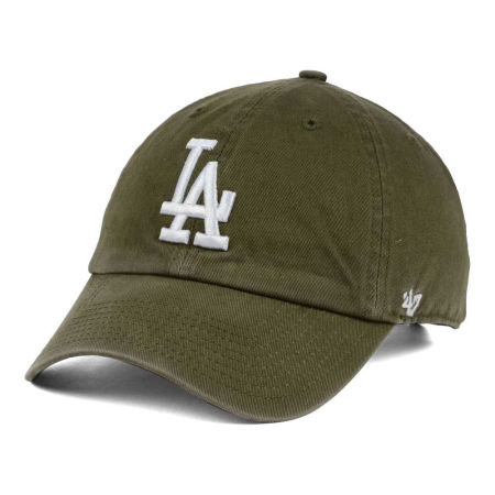Los Angeles Dodgers '47 MLB Olive White '47 CLEAN UP Cap