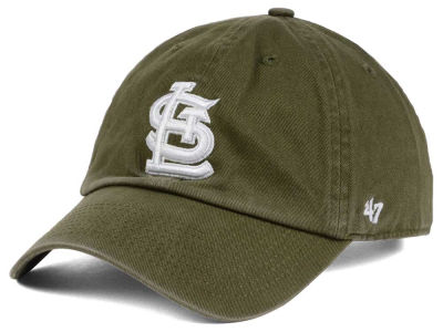 St. Louis Cardinals '47 MLB Olive White '47 CLEAN UP Cap