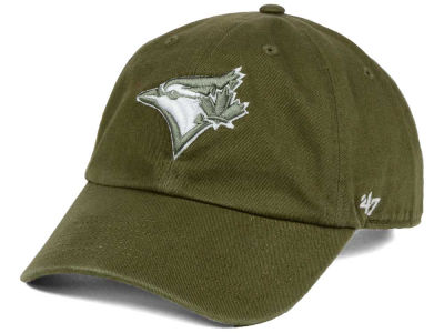 Toronto Blue Jays '47 MLB Olive White '47 CLEAN UP Cap