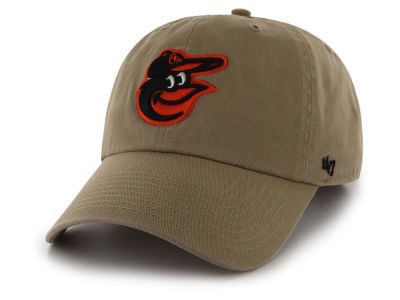 Baltimore Orioles '47 MLB Khaki '47 CLEAN UP Cap
