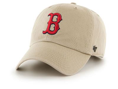 Boston Red Sox '47 MLB Khaki '47 CLEAN UP Cap