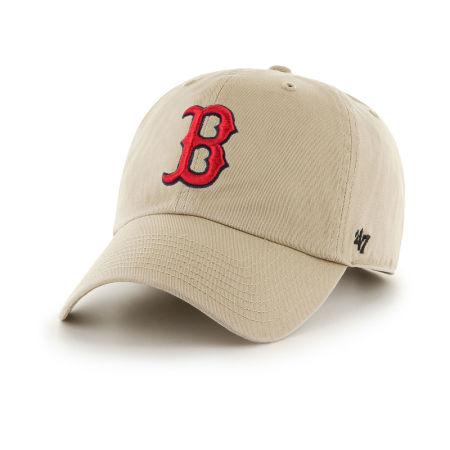 Boston Red Sox '47 MLB Khaki '47 CLEAN UP Cap